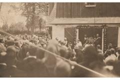 Poświęcenie dzwonów kościół św.Jerzego (1929)