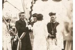 Konsekracja świątyni pw.Trójcy Świętej - kard. Adolf Bertram (1936)