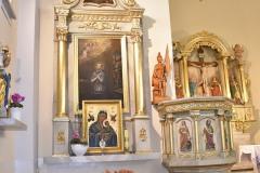 Ołtarz boczny ku czci św. Jana Nepomucena