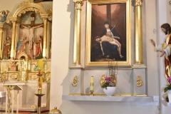 Ołtarz boczny ku czci Matki Bożej Bolesnej