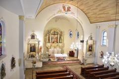 Ołtarz główny (modyfikowany po 1945)