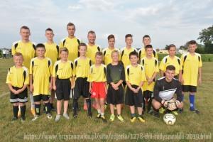 Mecz piłkarski ministranci - oldboje (2019)