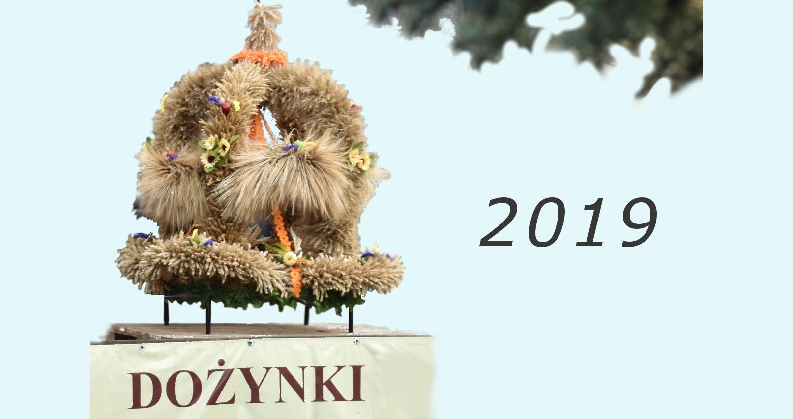 Dożynki gminne 2019 wRudyszwałdzie